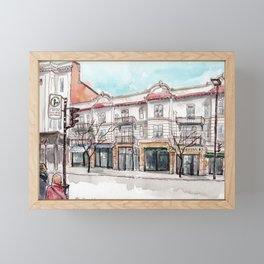 Montreal, Parc at Laurier Framed Mini Art Print