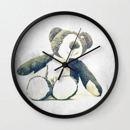sitting teddy bear... Wall Clock