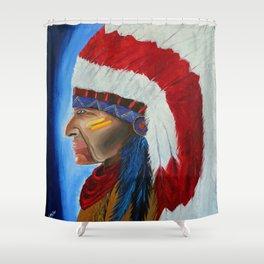Qaletaqa Shower Curtain