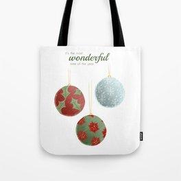 Wonderful Christmas Tote Bag