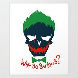 Suicide Squad - The Joker Art Print