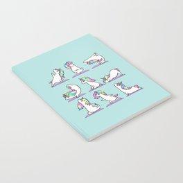 Unicorn Yoga Notebook