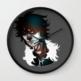 Prince of hell Wall Clock