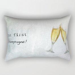 Champagne! Rectangular Pillow