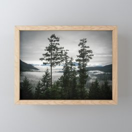 Bowen Island Retreat View Framed Mini Art Print