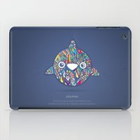 dolphin iPad Cases featuring Dolphin by Narek Gyulumyan