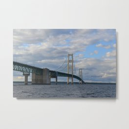 Straits of Mackinac 2 Metal Print