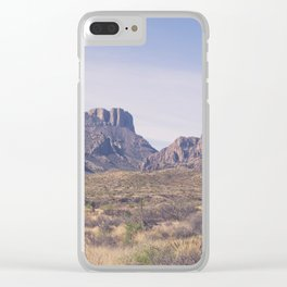 Westward III Clear iPhone Case
