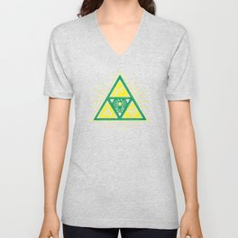 The Tribal Triforce Unisex V-Neck