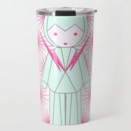 Mecha Robot Travel Mug