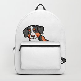 Appenzeller Dog Doggie Puppy Dogs Cute Happy Gift Backpack