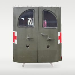 red cross Shower Curtain