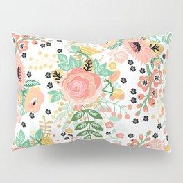 Autumn Floral Pattern Pillow Sham