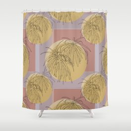 Henkelii Leaves Autumn Shower Curtain