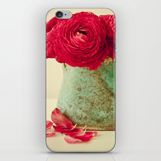 Red Petals iPhone & iPod Skin