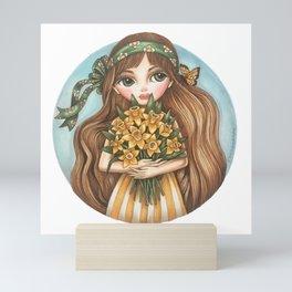 Daffodils Mini Art Print