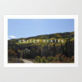 Unite the States Art Print