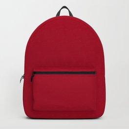Red Dark Raspberry Backpack