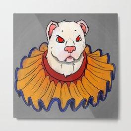 Clownin' Metal Print