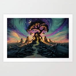 The Taurean Tree Art Print