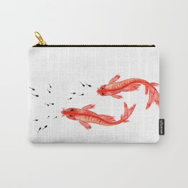 Curiosity. Fish and Tabpole Carry-All Pouch