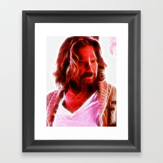 Magical The Big Lebowski Dude Framed Art Print