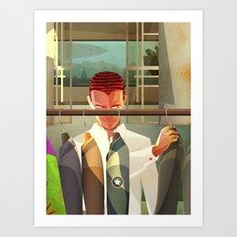 Norm! Art Print