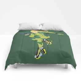 Zero Suit Samus(Smash)Green Comforters