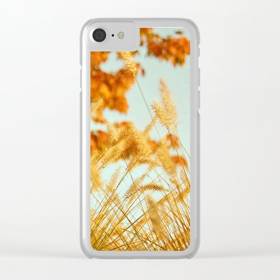 Sweater Weather Clear iPhone Case