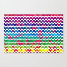 Mixed Colors Canvas Print