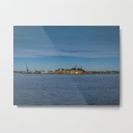 Cockatoo Island Metal Print