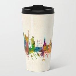 Gothenburg Sweden Skyline Travel Mug