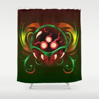 metroid Shower Curtains featuring Metroid by likelikes