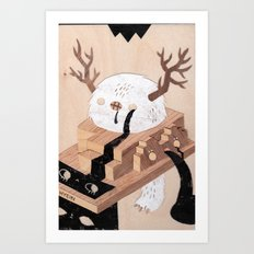 False Prophet Art Print