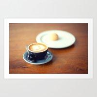Macchiato with Love Art Print