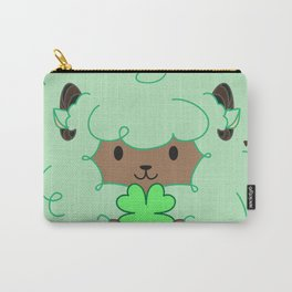 Mint Chocolate Sheep Carry-All Pouch