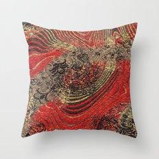 Foccata Digital Throw Pillow