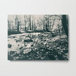 Around the Green Riverbend Metal Print