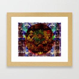 Kemetic Holy Trinity Framed Art Print