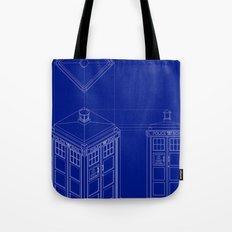 Tardis -Dark Tote Bag