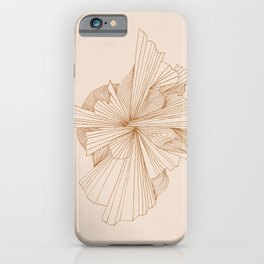 Abstract Botanics iPhone Case