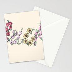 Floral AF Stationery Cards