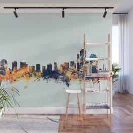 Wilmington Delaware Skyline Wall Mural