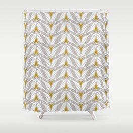 Tulipa - Flax Shower Curtain
