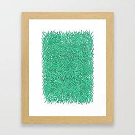 Wormies Framed Art Print