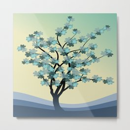 branches field flora forest fruits Metal Print