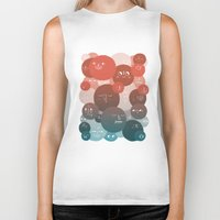blood Biker Tanks featuring Blood Cells by Chase Kunz