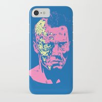 terminator iPhone & iPod Cases featuring Terminator (neon) by Liam Brazier