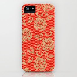 Lace Jute iPhone Case