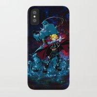fullmetal alchemist iPhone & iPod Cases featuring Two Alchemist by BradixArt